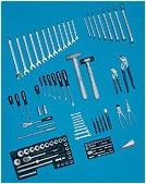 Набор инструментов HAZET 100 предметов