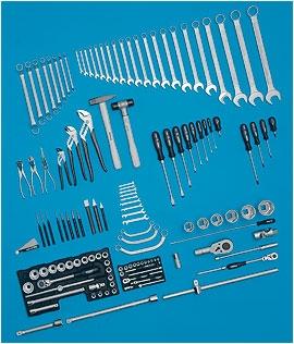 Универсальный набор инструментов HAZET 135 предметов